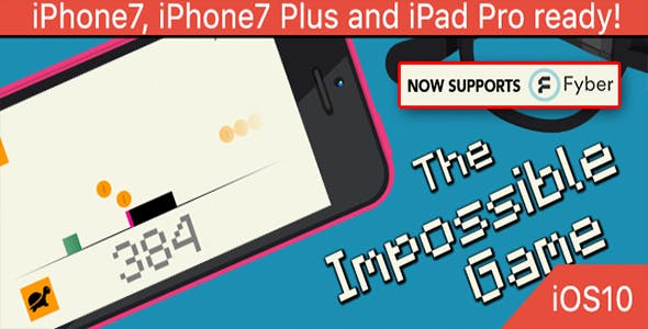 The Impossible Game – Deluxe Edition - iOS 10 and Swift 3 ready