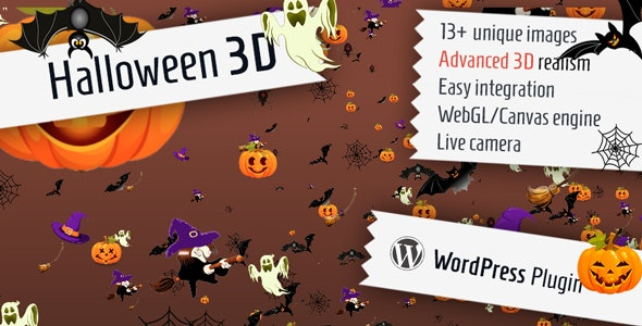 Halloween 3D for WordPress - CodeCanyon Item for Sale