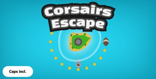 Construct 2 - Corsairs Escape (Android)