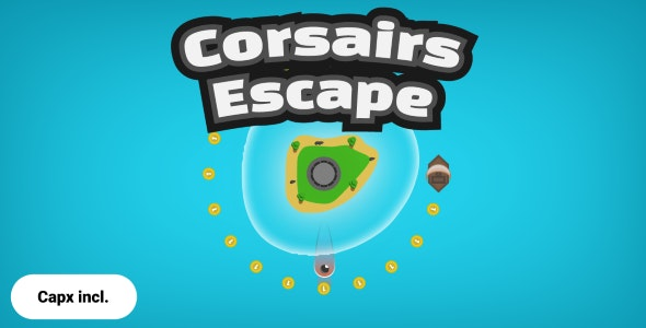 Construct 2 - Corsairs Escape (Android) - CodeCanyon Item for Sale