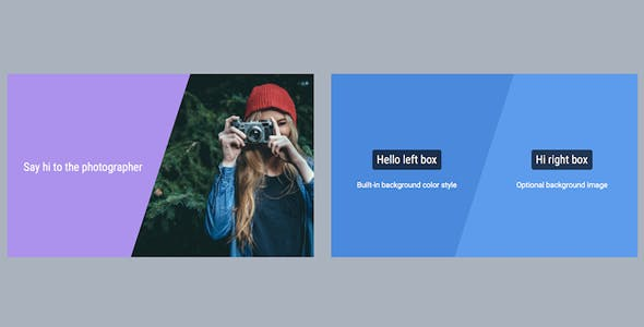 WPBakery Page Builder (formerly Visual Composer) Add-on - Skew Box