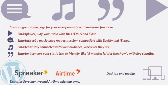 Radio Utilities - CodeCanyon Item for Sale