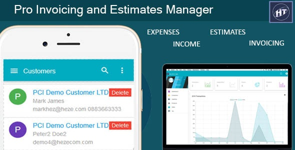 Pro Invoicing and Estimates Manager - CodeCanyon Item for Sale