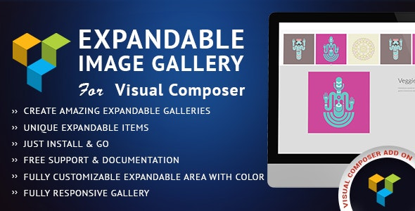 Expandable Image Gallery Visual Composer AddOn - CodeCanyon Item for Sale