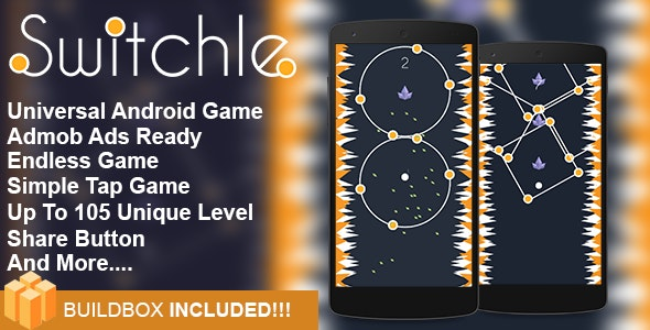 Switchle - Addictive Game IOS XCODE Project - CodeCanyon Item for Sale