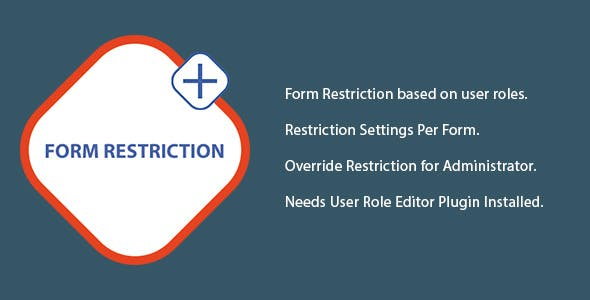 Gravity Form Restriction for User Role Editor