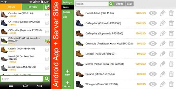 Store Template with Server Side - CodeCanyon Item for Sale