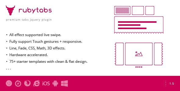Ruby Tabs - Premium Tabs & Slider - CodeCanyon Item for Sale