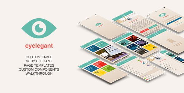 Eyelegant | Ionic Template + Cordova Plugins - CodeCanyon Item for Sale