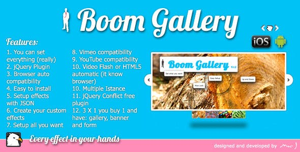 Boom Gallery jQuery Plugin