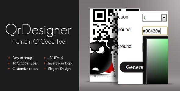 QrDesigner - Premium QrCode Generator