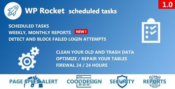 WP Rocket Scheduled Tasks
