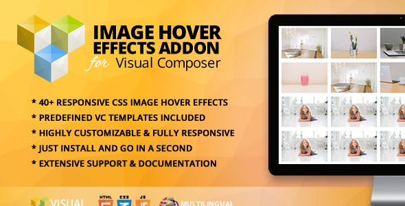 Image Hover Effects Addon for WPBakery Page Builder (formerly Visual Composer)