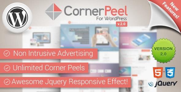 WordPress Corner Peel Plugin - CodeCanyon Item for Sale
