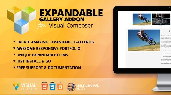 Expandable Gallery Addon for WPBakery Page Builder (formerly Visual Composer) - CodeCanyon Item for Sale