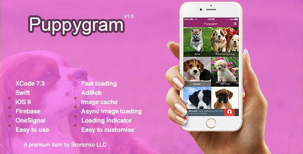 Puppygram - iOS Async Photo Gallery App