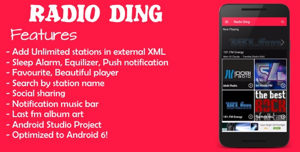 Radio Ding - CodeCanyon Item for Sale