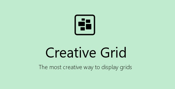 Creative Grid for Visual Composer - CodeCanyon Item for Sale