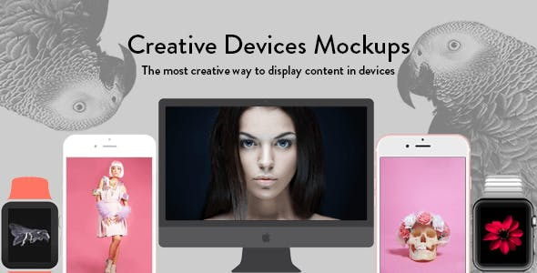 Creative Devices Mock-ups for Visual Composer
