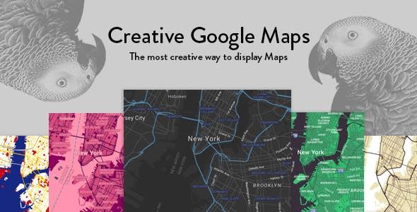 Creative Google Maps for Visual Composer