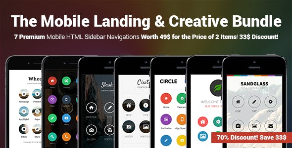 The Mobile Landing & Creative Bundle