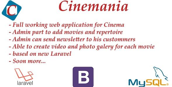 Cinemania - CodeCanyon Item for Sale