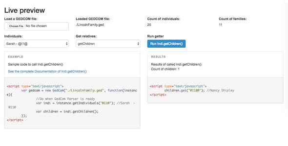 GedCom Parser - CodeCanyon Item for Sale