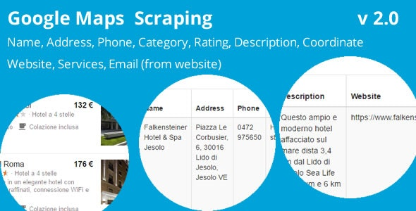 Google Maps Scraping - CodeCanyon Item for Sale