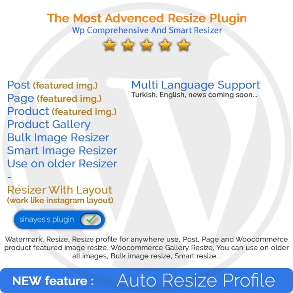 WP Comprehensive and Smart Image Resizer - CodeCanyon Item for Sale