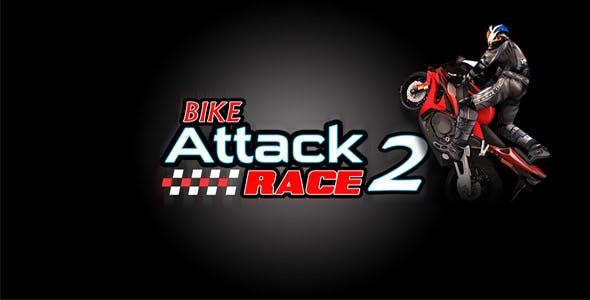 Bike Attack Race Unity 3D full source code with 6 Ads network Integration