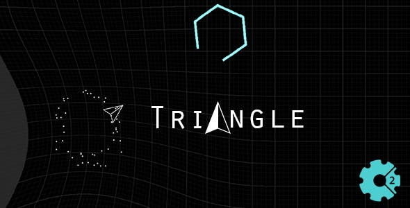 Triangle - Space Shooter (Construct 2)