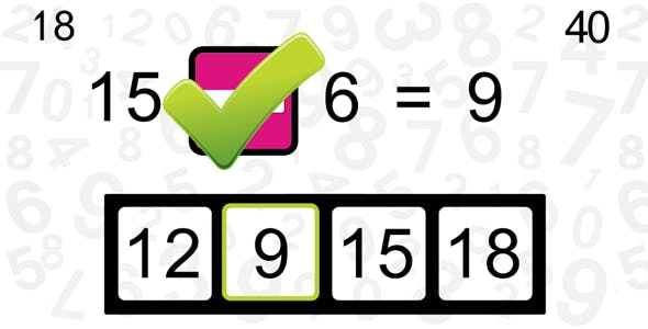 Math Genius 2 - Educational HTML5 Game