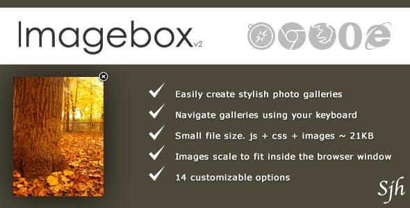 ImageBox - Image Viewing Script
