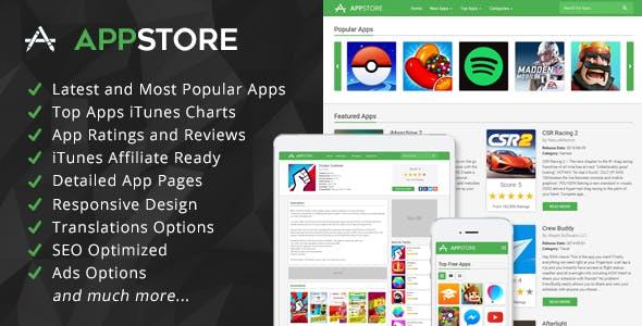 AppStore - iOS Apps iTunes Affiliate Script