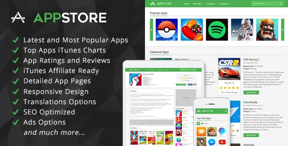 AppStore - iOS Apps iTunes Affiliate Script by ArmorThemes | CodeCanyon