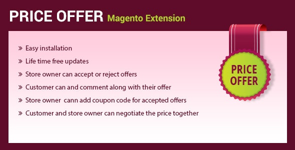 Price Offer/Bargain magento 2 extension - CodeCanyon Item for Sale