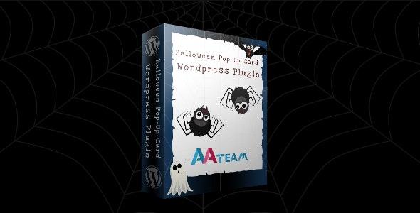 Halloween Pop-Up Card – Wordpress Plugin - CodeCanyon Item for Sale