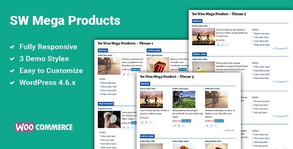 Mega Products WooCommerce WordPress Plugin - CodeCanyon Item for Sale