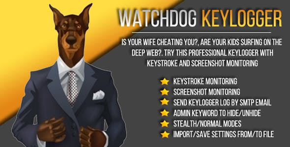 WatchDog Keylogger