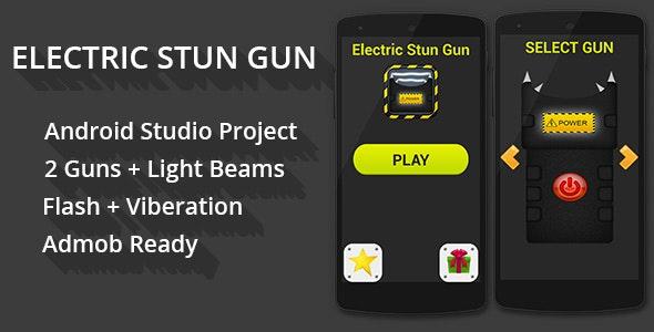 Electric Stun Gun + Admob Ready - CodeCanyon Item for Sale