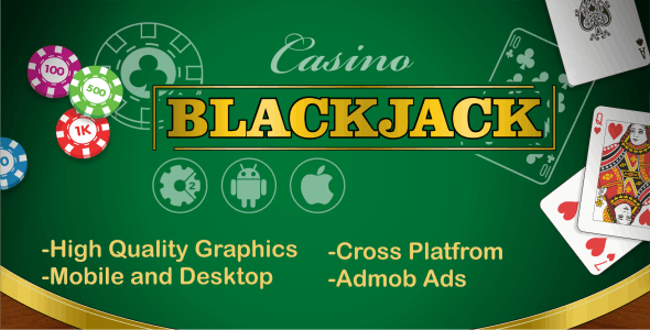BlackJack - HTML5 Casino Game + CAPX - CodeCanyon Item for Sale