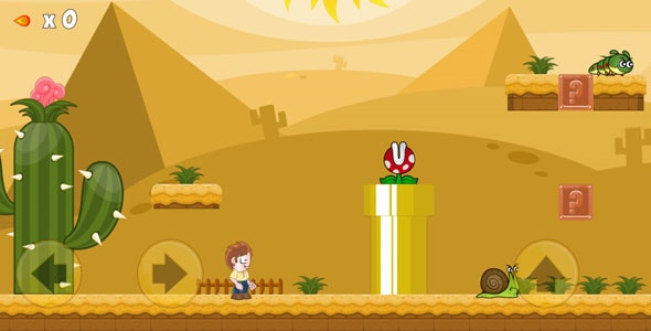 Super Adventure - Great retro game remake. - CodeCanyon Item for Sale