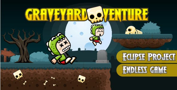 Graveyardventure with Admob &Leaderboard - Multiple Character