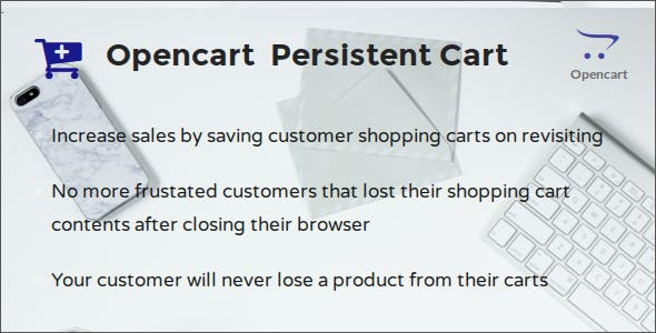 Opencart Persistent Cart