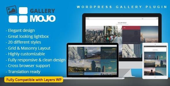 Gallery Mojo - WordPress Gallery Plugin - CodeCanyon Item for Sale