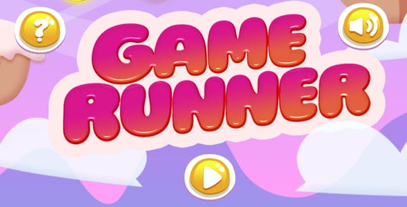 Candy Game Runner Full Android Game - ( Buildbox 2.2.6- Eclipse - Admob - Google play services)
