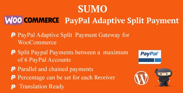 WooCommerce PayPal Adaptive Split Payment - CodeCanyon Item for Sale