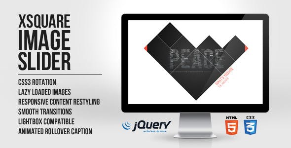 xSquare - Responsive Image Slider html5/jquery