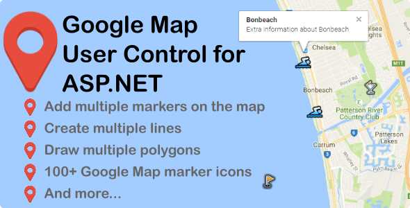 Google Map User Control for ASP.NET