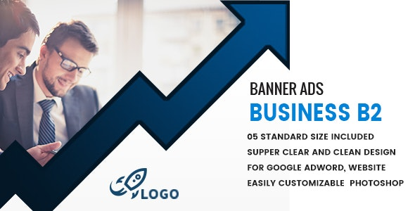 Business Banners HTML5 D2 - Animate - CodeCanyon Item for Sale